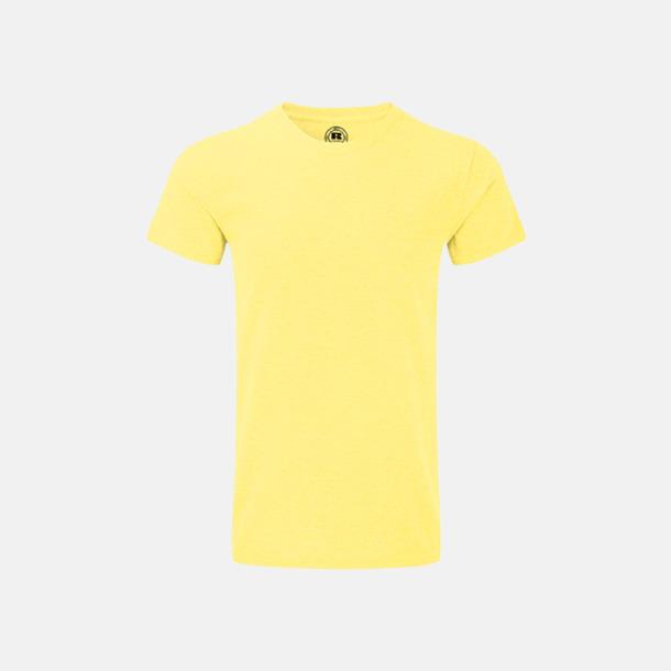 Yellow Marl (herr) Färgstarka t-shirts i herr- och dammodell med reklamtryck