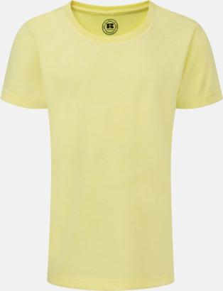 Yellow Marl (flicka) Barn t-shirts i u- och v-hals med reklamtryck