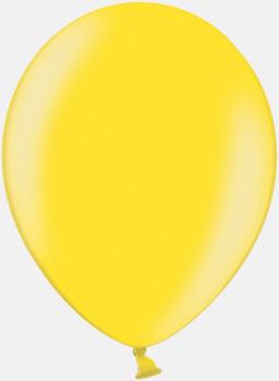 Bright Yellow 117 (PMS 123) Ballonger med tryck