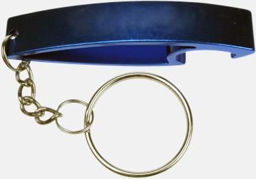 Haj (blå) Nyckelring Aluminium medtryck.com
