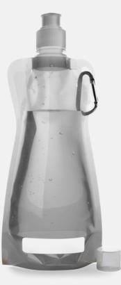 Silver Grå Reklamvattenflaska med egen logga