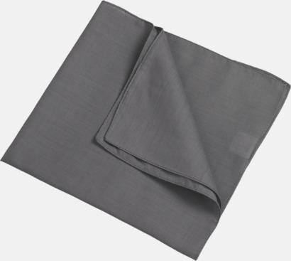 Mörkgrå (scarf) Bandanas i två varianter med reklambrodyr