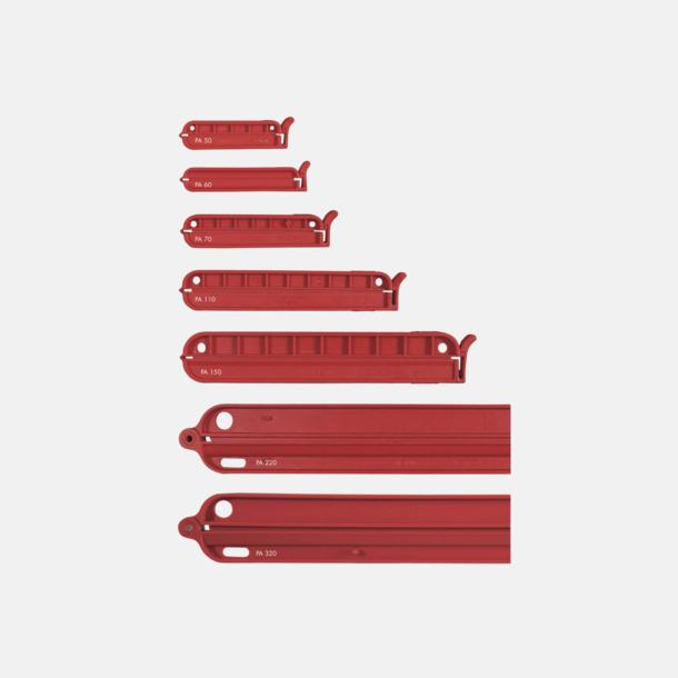 Röd Påsklämmor med tryck