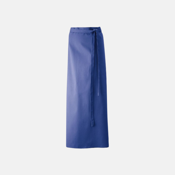 Royal Blue (100 x 100 cm) Förkläden i 5 varianter med reklamtryck