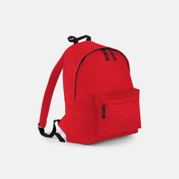 Classic Red Klassisk ryggsäck i 2 storlekar med eget tryck