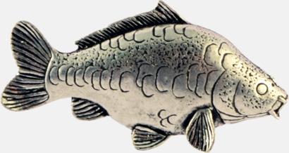 Karp Engelska, handgjorda broscher med jaktmotiv