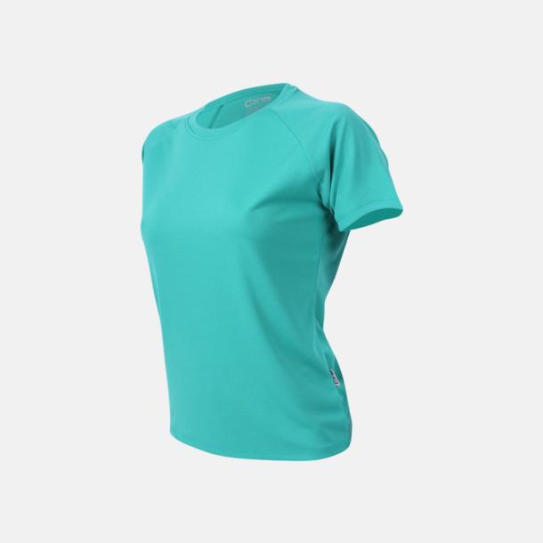 Teal Sport t-shirts i många färger - med reklamtryck