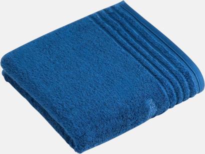 Deep Blue Handdukar i 3 storlekar med reklambrodyr