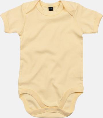 Soft Yellow Profilkläder för de allra minsta med tryck