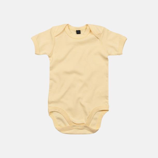 Soft Yellow Profilkläder för de allra minsta med reklamtryck