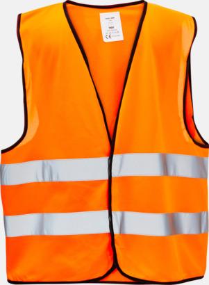 Orange Reflexvästar i olika färger