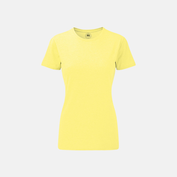 Yellow (dam) Färgstarka t-shirts i herr- och dammodell med reklamtryck