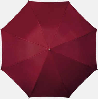 Vinröd Winchester - Paraplyer med tryck