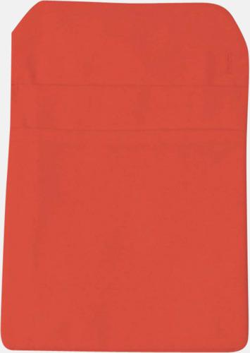 Orange Förklädesfodral med reklamtryck