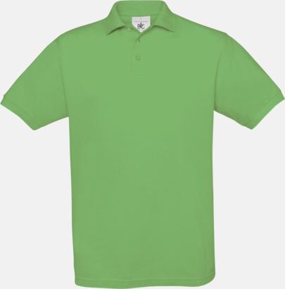 Real Green Kortärmade pikétröjor med egen brodyr