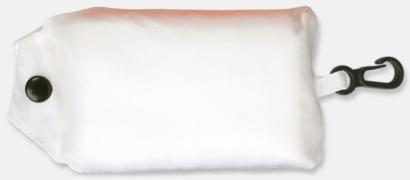 Vit Trendig, vikbar väska med belt-clip