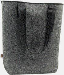 Handväskor av filt med reklambrodyr