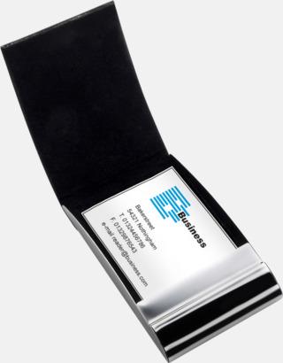Visitkortfodral med magnetstängning - med reklamtryck