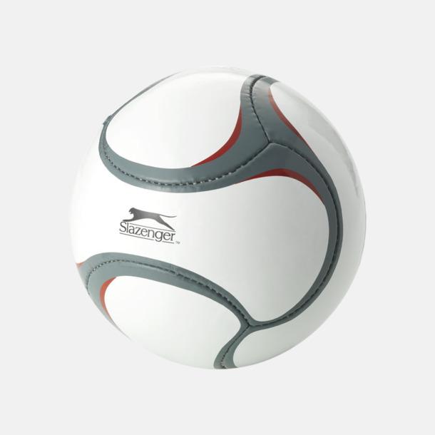 Grå/Röd Designade fotbollar med reklamtryck