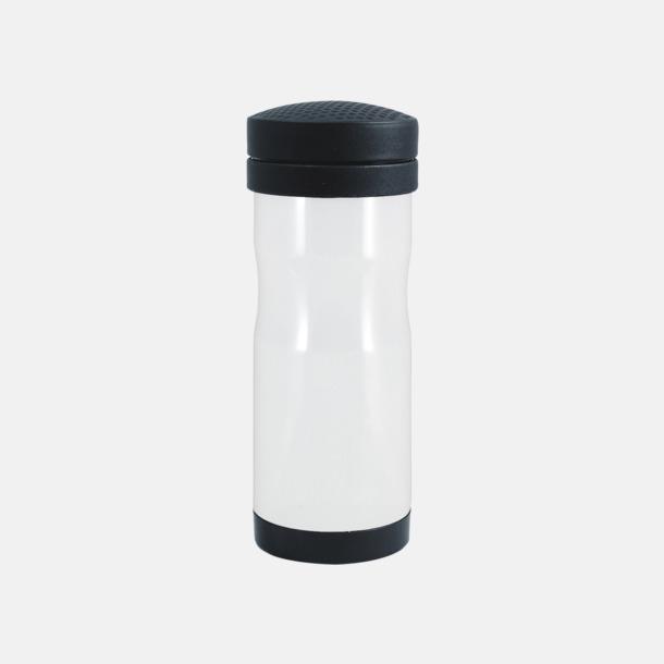 Vit Termosmugg för bilen. Ta med dig en take away kaffe i bilen- utan att spilla!