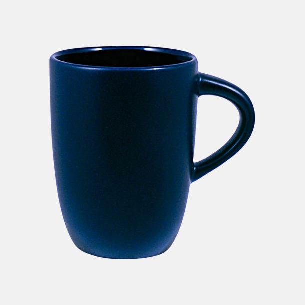 Blå Kaffemuggar med tryck