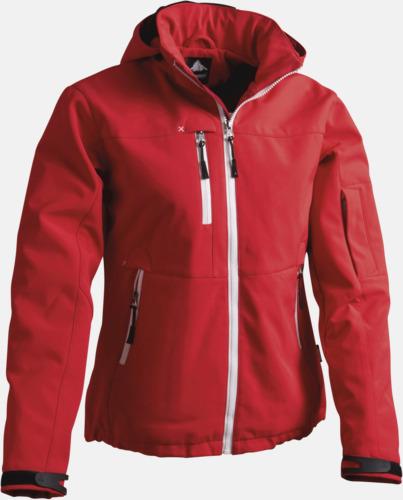 Röd Garnet Jacka med eget reklamtryck eller brodyr