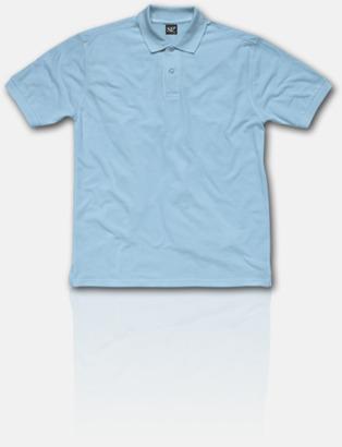 Sky Fina pikétröjor för herr, dam & barn med reklamtryck