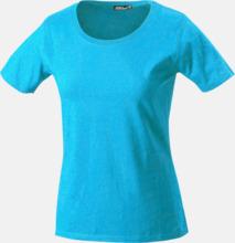 T-shirtar av kvalitetsbomull med eget tryck