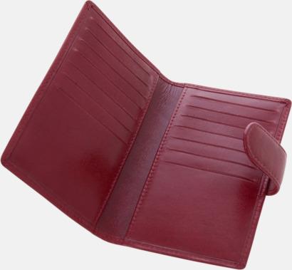 Visit- och kreditkortshållare med reklamtryck