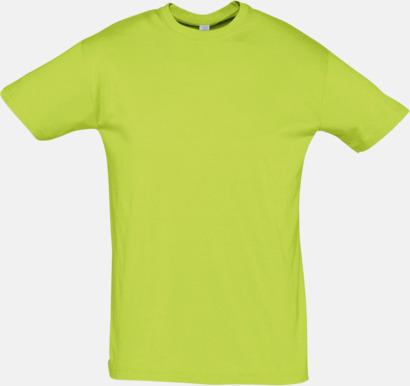 Apple Green Billiga herr t-shirts i rmånga färger med reklamtryck