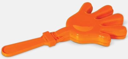 Orange Skallra med reklamtryck