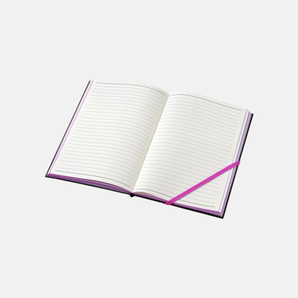Anteckningsböcker i A5- och A6-format med reklamtryck