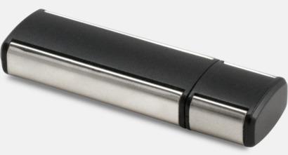 Svart Style USB-minne med eget tryck.