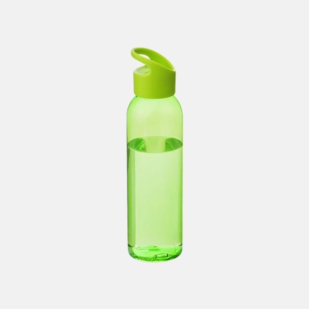 Grön/Transparent grön Bärvänliga vattenflaskor i tritan med reklamtryck