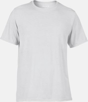 Vit Billigare t-shirts för sublimeringstryck
