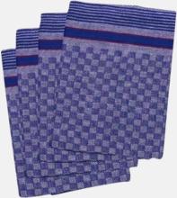 Rutiga handdukar i fin kvalitet med reklambrodyr