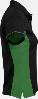 Pikétröjor i funktionsmaterial med tryck