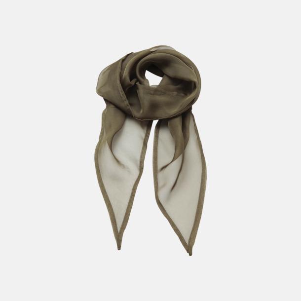 Olivgrön Tunna accessoarscarfs i många färger