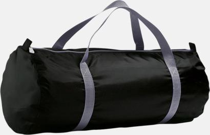 Svart Resväskor i 2 storlekar med reklamtryck