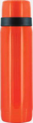 Neonorange Neonfärgade termosar 0,5 liter från Vildmark med reklamtryck