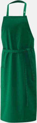 Bottle Green (bib 100 x 80 cm) Förkläden i 5 varianter med reklamtryck