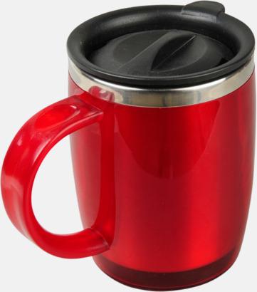 Röd Barrel Värmekopp med eget reklamtryck