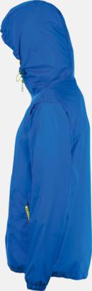Vind- och vattentäta jackor med reklamtryck