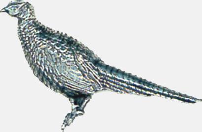Stående fasan Engelska, handgjorda broscher med jaktmotiv