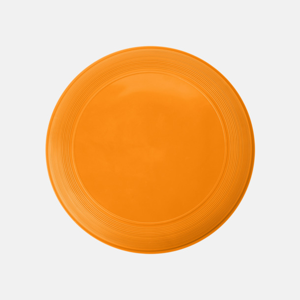 Orange Sportiga frisbees i många färger med reklamtryck