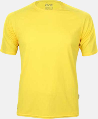 Sun yellow Funktioner i alla tänkbara färger - med reklamtryck