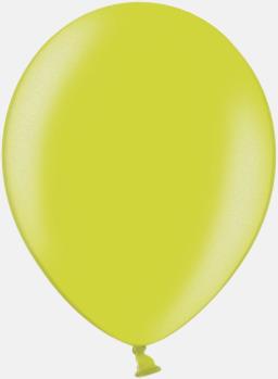 078 Apple Green Ballonger i unika färger med eget tryck