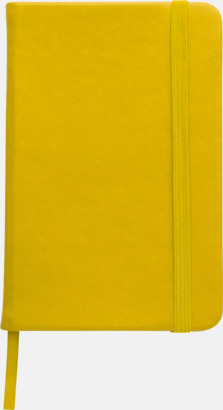 Gul Färgglada anteckningsböcker med tryck