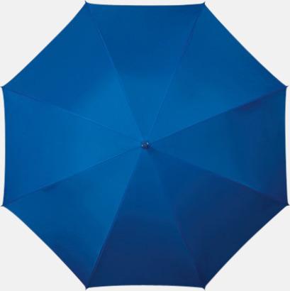 Blå (PMS 293C) Färgstarka och eleganta paraplyer med reklamtryck