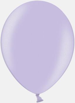 076 Lavender (PMS 256 U) Ballonger i unika färger med eget tryck